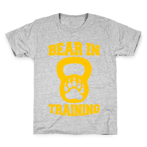Bear In Training Kids T-Shirt