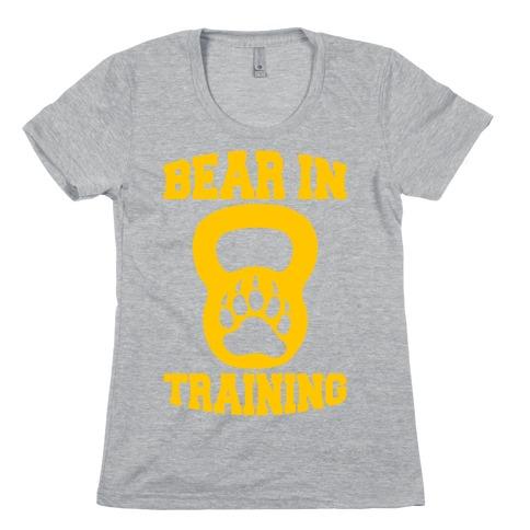 Bear In Training Womens T-Shirt