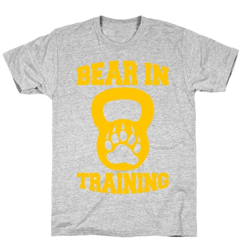 Bear In Training Mens/Unisex T-Shirt