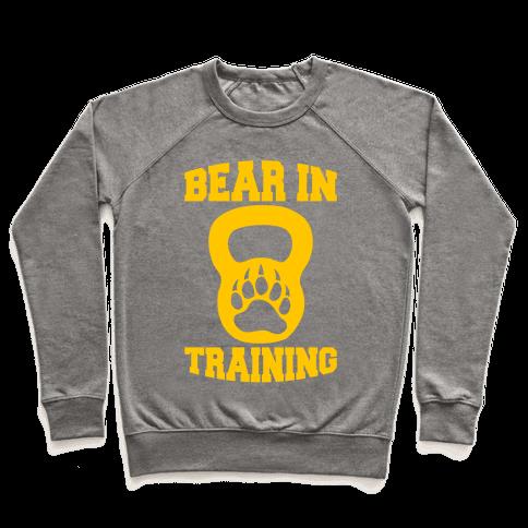 Bear In Training Pullover