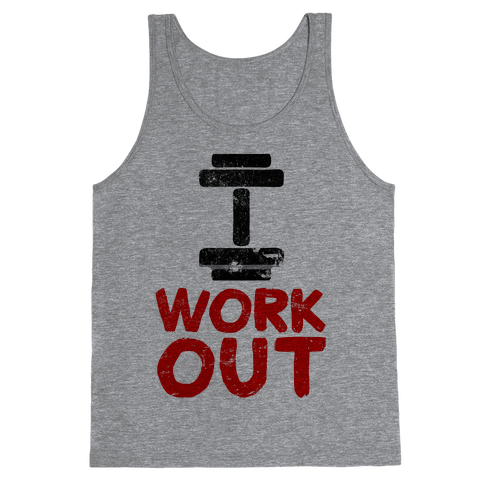I Workout Tank Top
