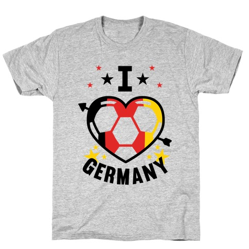 I Love Germany (Soccer) T-Shirt