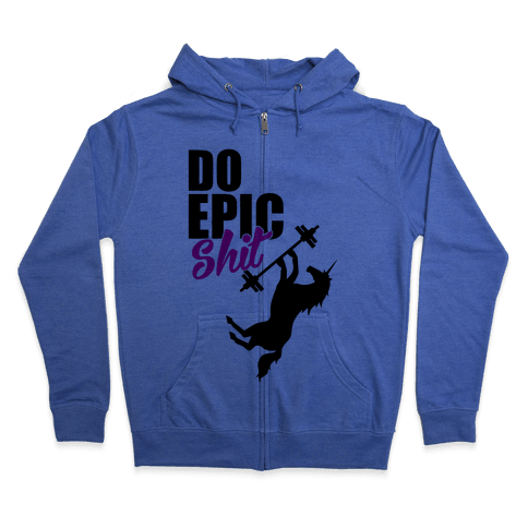 Epic Workout Zip Hoodie
