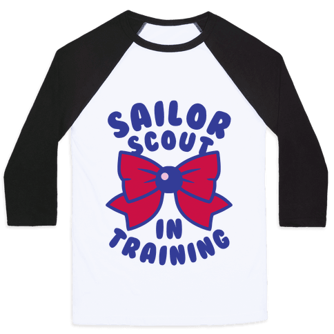 Sailor Scout In Training (Mars) Baseball Tee