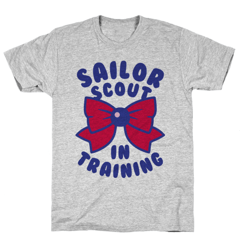 Sailor Scout In Training (Mars) Mens T-Shirt