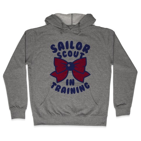 Sailor Scout In Training (Mars) Hooded Sweatshirt