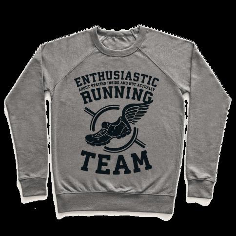 Enthusiastic Running Team Pullover