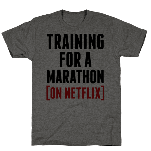 Training for a Marathon (On Netflix)