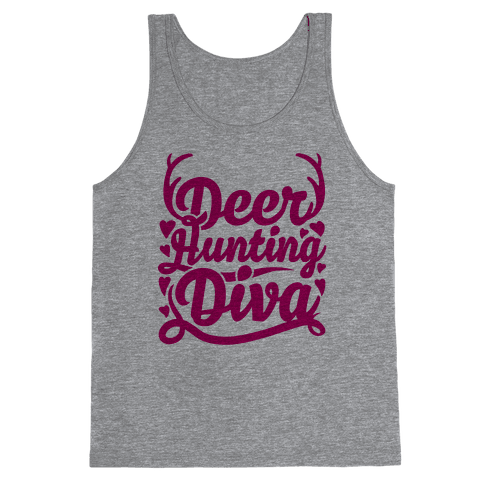 Deer Hunting Diva Tank Top