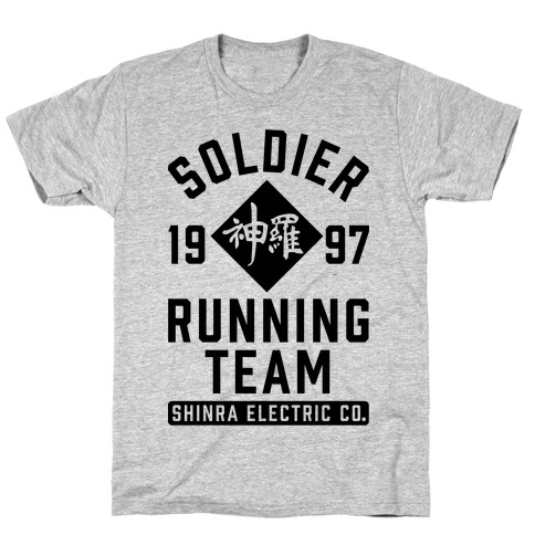 Soldier Running Team T-Shirt
