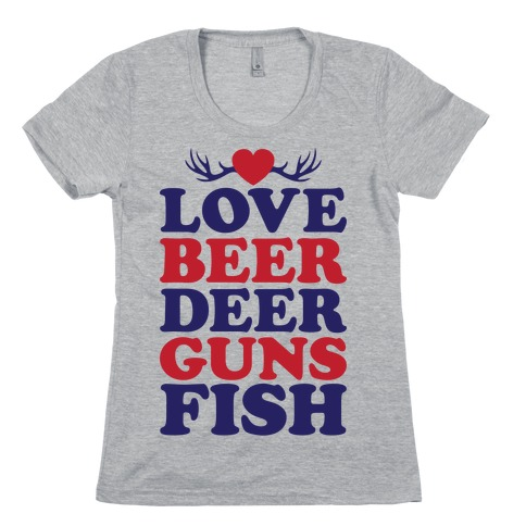 My Favorite Four Letter Words Womens T-Shirt