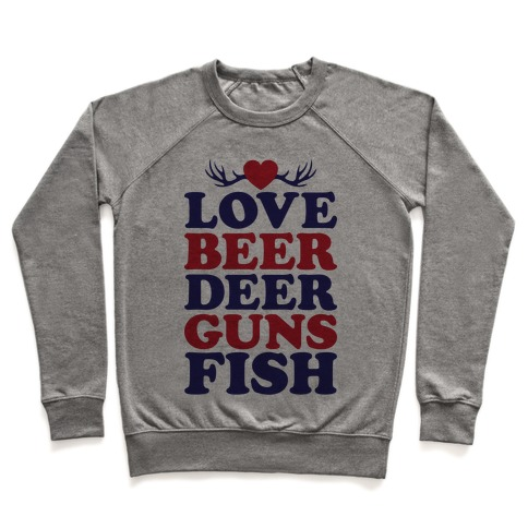 My Favorite Four Letter Words Pullover