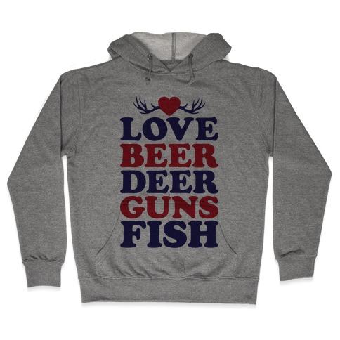 My Favorite Four Letter Words Hooded Sweatshirt