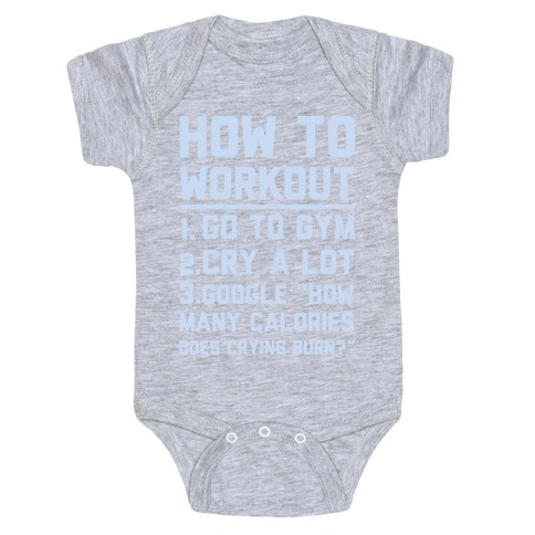 How To Workout Baby Onesy