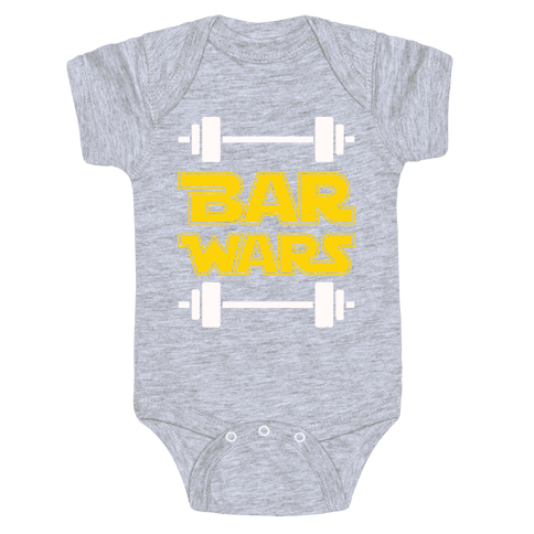 Bar Wars Baby Onesy