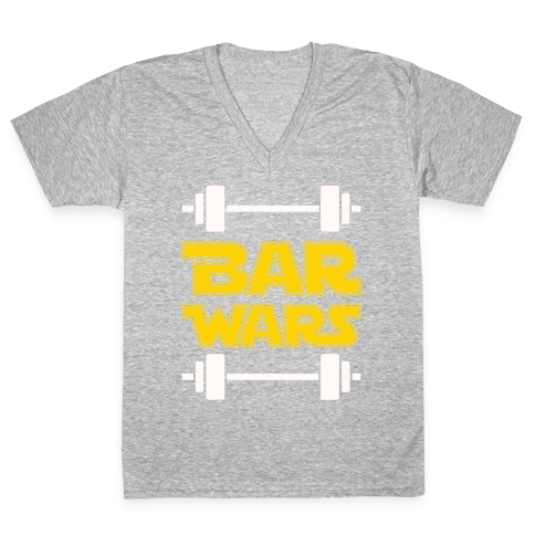 Bar Wars V-Neck Tee Shirt