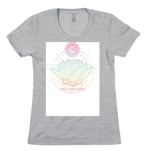 Lotus Womens T-Shirt