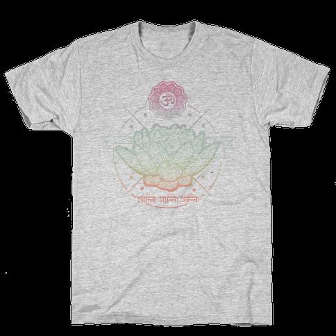 Lotus Mens T-Shirt