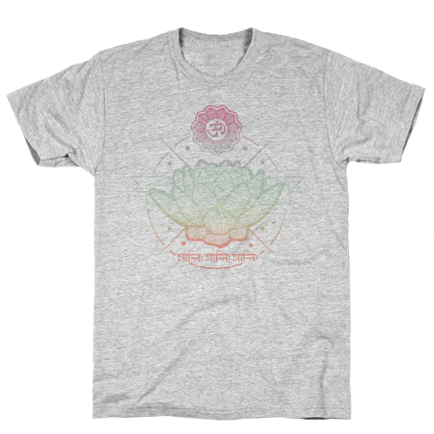 Lotus Mens T-Shirt