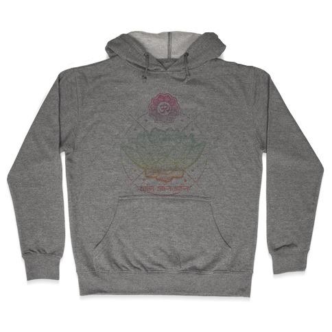 Lotus Hooded Sweatshirt
