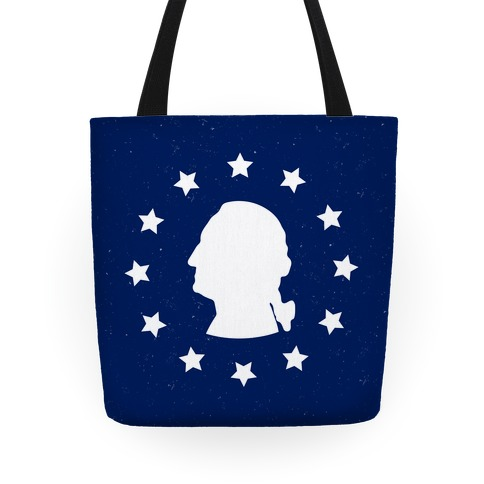 George Washington Silhouette Tote