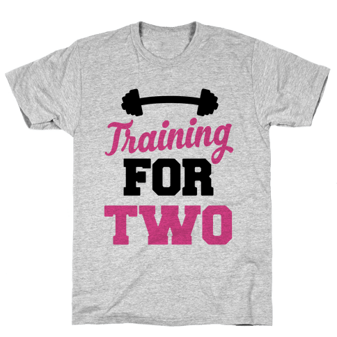 Training For Two Mens T-Shirt