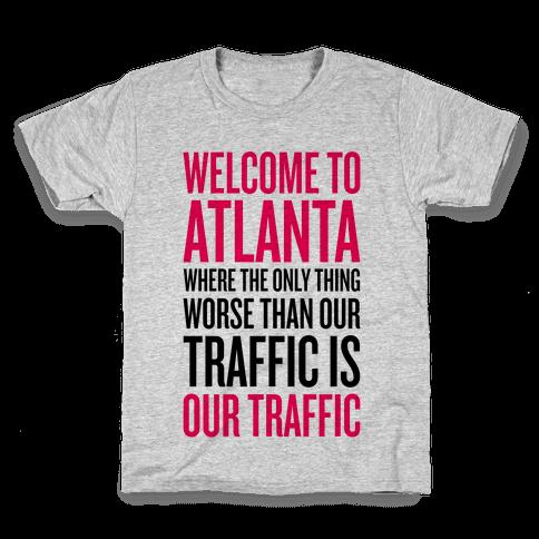 Atlanta Traffic Kids T-Shirt