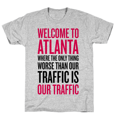 Atlanta Traffic Mens T-Shirt