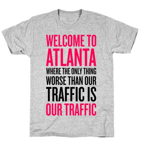 Atlanta Traffic Mens T-Shirt