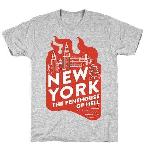 New York The Penthouse Of Hell T-Shirt