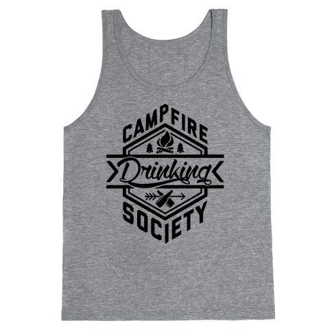 Campfire Drinking Society Tank Top