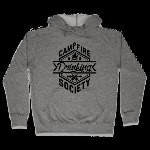 Campfire Drinking Society Hooded Sweatshirt