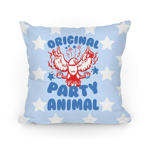 Original Party Animal Pillow