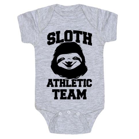 Sloth Athletic Team Baby Onesy