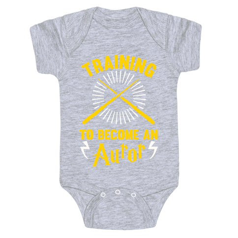 Training To Become An Auror Baby Onesy