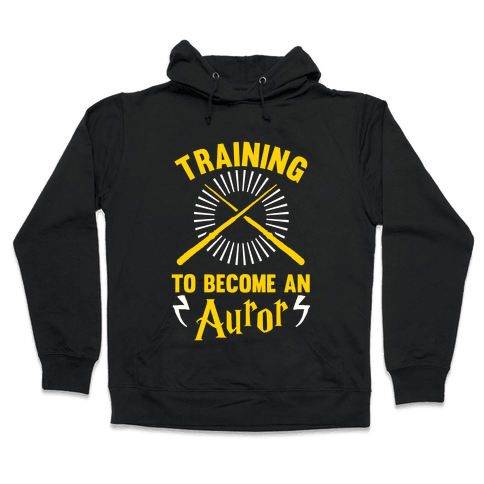 Training To Become An Auror Hooded Sweatshirt
