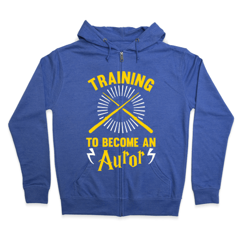 Training To Become An Auror Zip Hoodie