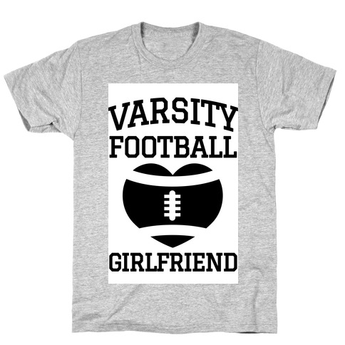 Varsity Football Girlfriend T-Shirt
