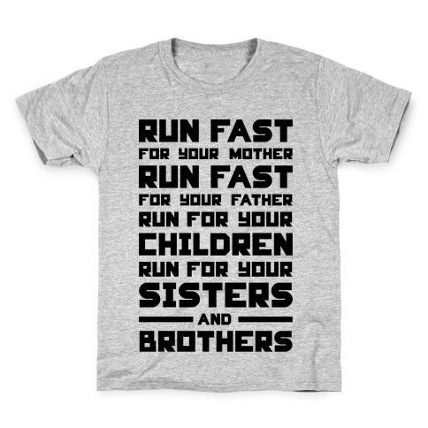 Run Fast Kids T-Shirt