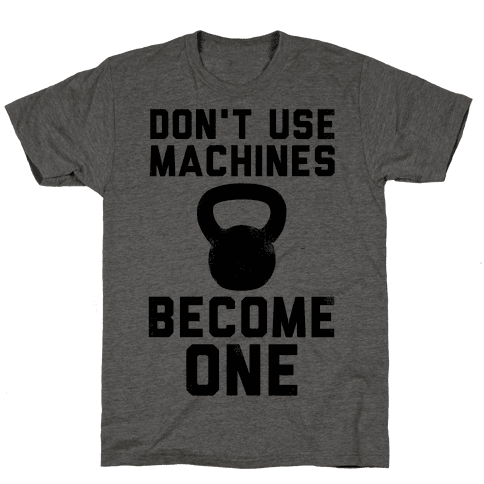and machine become one