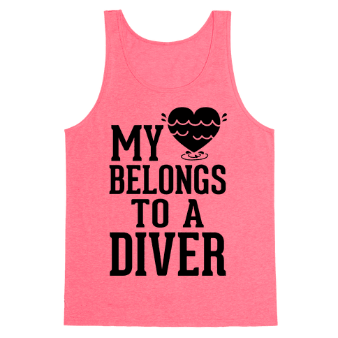 My Heart Belongs To A Diver