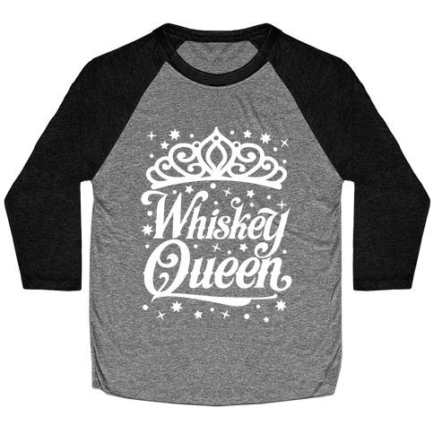 Whiskey Queen Baseball Tee