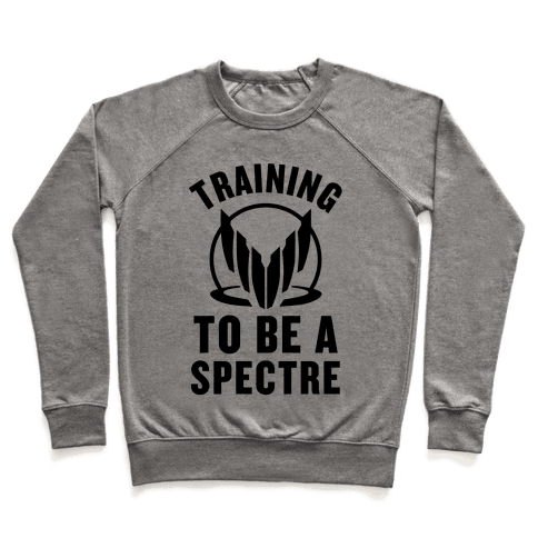 Training To Be A Spectre Pullover