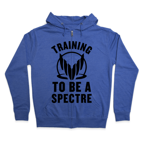 Training To Be A Spectre Zip Hoodie