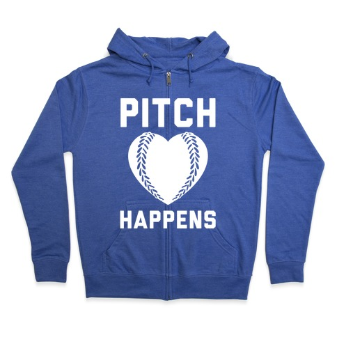 Pitch Happens Zip Hoodie