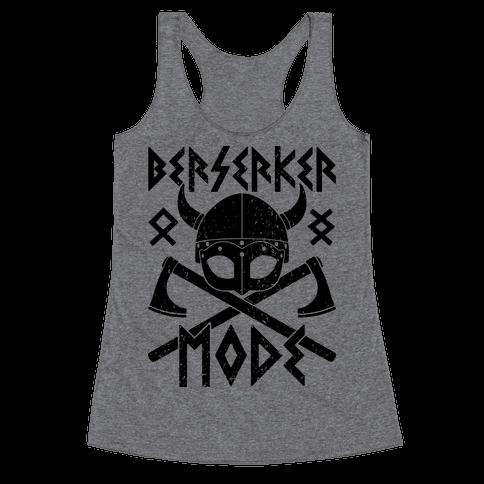 Berserker Mode Racerback Tank Top