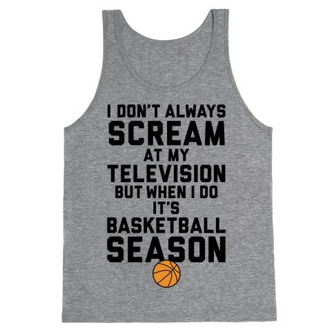 Basketball Season Tank Top