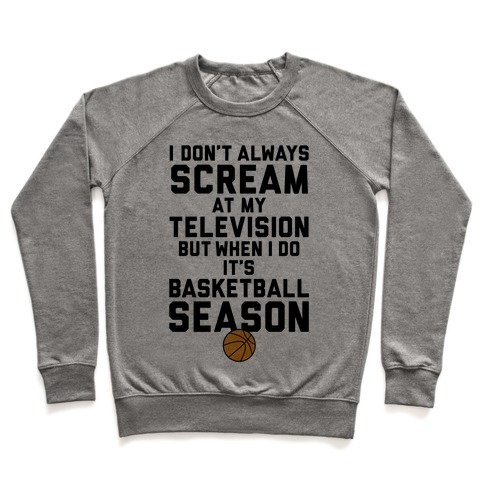 Basketball Season Pullover