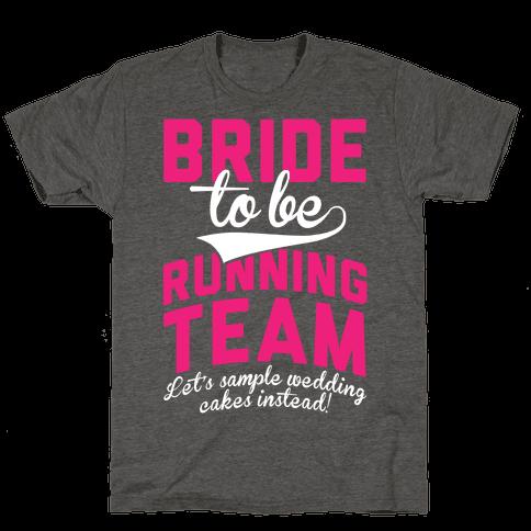 Bride-To-Be Running Team