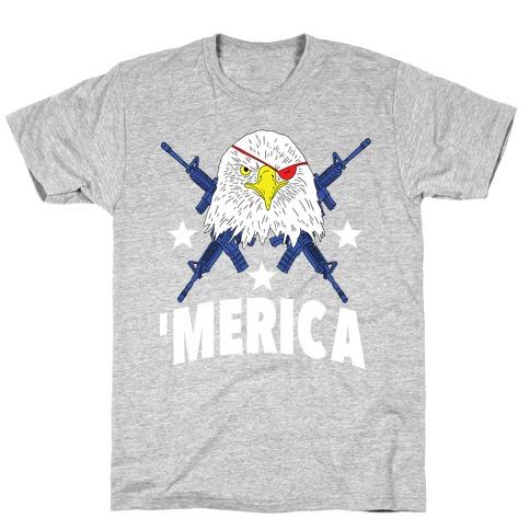 Bad Ass Bald Eagle T-Shirt